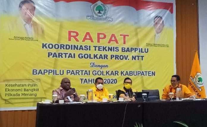 Frans Sarong Ungkap Rencana Golkar Dorong Melki Laka Lena Rebut Kursi Gubernur NTT