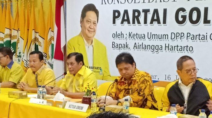 Nurdin Halid Sodorkan 15 Nama Kader Golkar Sulsel Jadi Pengurus DPP