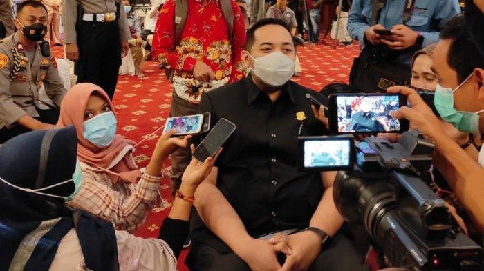 Pinto Jaya Negara Jadi Kader Golkar Pertama Yang Divaksin COVID-19 di Provinsi Jambi