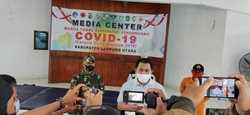 Usai Musda Golkar Lampura, Empat Warga Terkonfirmasi Positif COVID-19