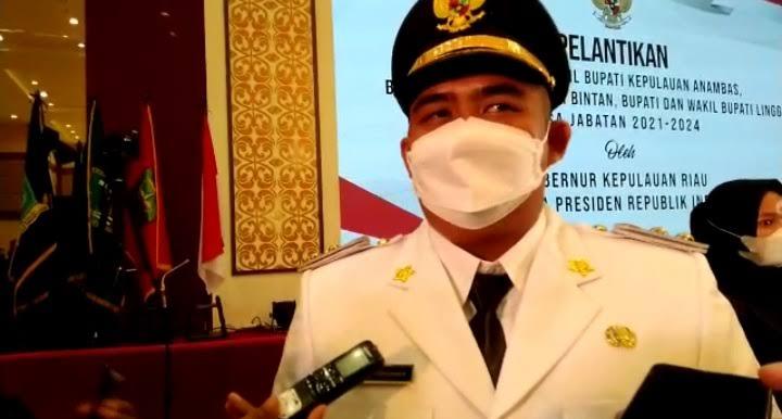 Apri Sujadi Ditahan KPK, Robby Kurniawan Resmi Jabat Plt Bupati Bintan