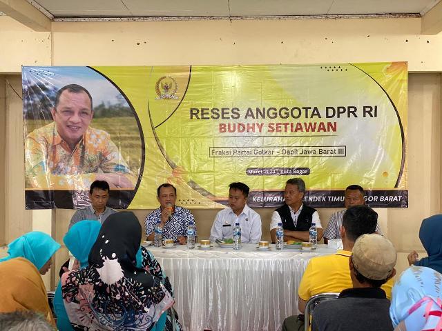 Lahan Pertanian Kian Minim, Budhy Setiawan Dorong Urban Farming di Kota Bogor