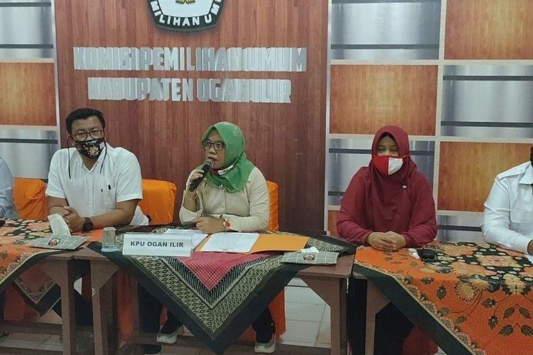 Duh! Calon Bupati Ilyas Panji Alam-Endang Putra Utama Didiskualifikasi KPU Ogan Ilir