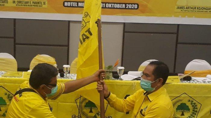 Didukung 25 Pimpinan Kecamatan, Adrie Kamasi Terpilih Aklamasi Pimpin Golkar Minahasa