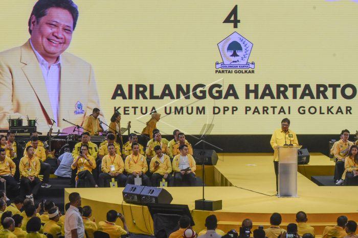 Survei Charta Politika: Disalip PKB dan PKS, Elektabilitas Golkar Nomor 5 Dengan 7,8 Persen