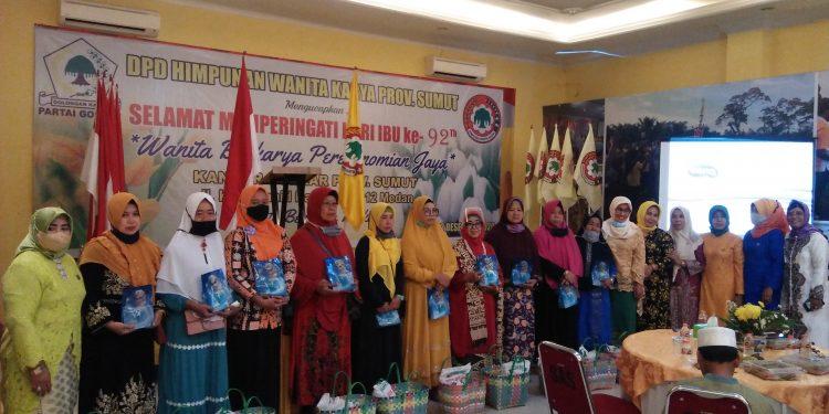 HWK Sumatera Utara Peringati Hari Ibu, 'Wanita Berkarya Perekonomian Jaya'