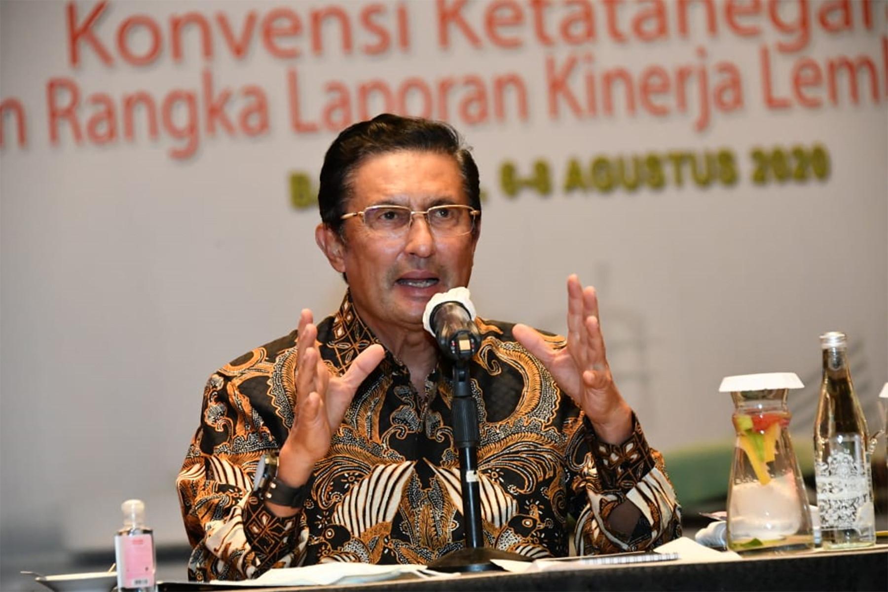 92 Tahun Sumpah Pemuda, Fadel Muhammad Harap Pemuda Indonesia Miliki Spirit Kewirausahaan