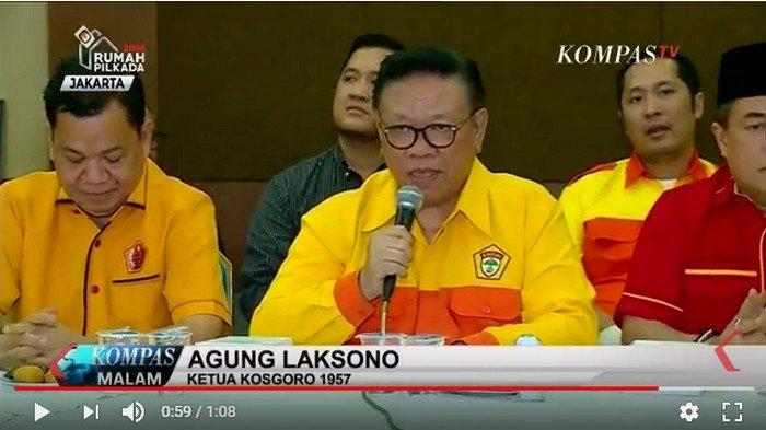 Agung Laksono Harap Pengganti Rahmat Effendi di Golkar Kota Bekasi Bisa Kembalikan Kejayaan Partai