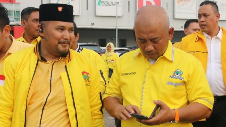 Rangkul Milenial, Zainul Miftah Siap Kompetisi di Musda Golkar Kota Bekasi