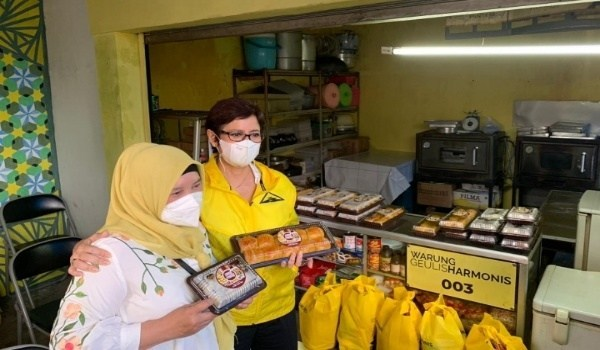 Warung Geulis Harmonis, Cara Nurul Arifin Bantu Permodalan UMKM Kota Bandung dan Cimahi