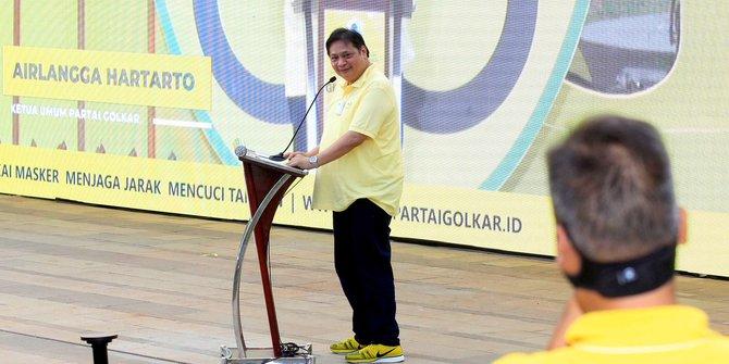 Airlangga Ingatkan Kader Golkar Jeli Baca Situasi Politik dan Siapkan Langkah Taktis Hadapi 2024