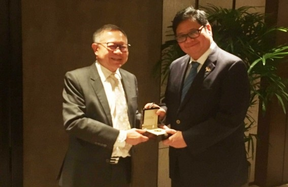 Selamat! Airlangga Hartarto Raih Penghargaan Lee Kuan Yew Fellow ke-56