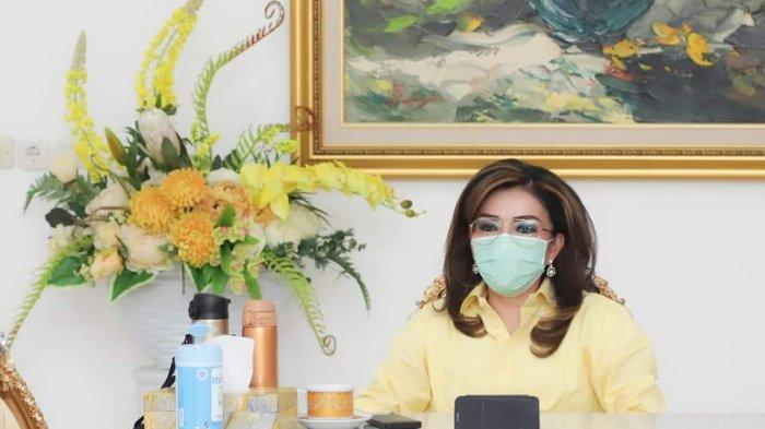 Bupati Tetty Paruntu Minta Aparat Tindak Tegas Warga Minsel Yang Keluyuran Saat Pandemi COVID-19