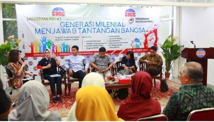 Airin Rachmy Diani Ajak Generasi Milenial Jadi Pelopor Pancasila Masa Depan