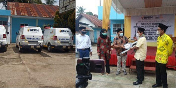 Gandeng BPKH, John Kenedy Azis Serahkan 2 Ambulance Untuk Pesantren dan Yayasan di 50 Kota