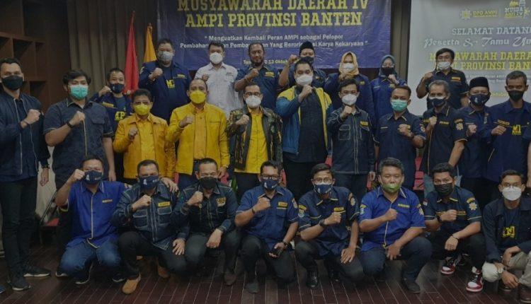 Terpilih Pimpin AMPI Banten, Tb Udra Sengsana Siap Jadi Laboratorium Kader Pemuda Bagi Golkar