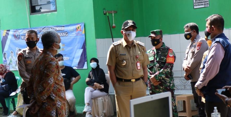PPKM Darurat di Tangerang, Bupati Ahmed Zaki Keluhkan Keterbatasan Nakes Dan Ketersediaan Vaksin