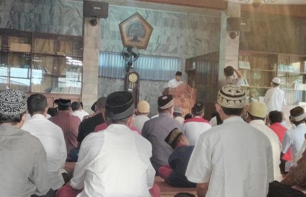 Novanto, Akbar dan Agung Kompak Idul Adha di Syajaratun Thayyibah DPP Golkar