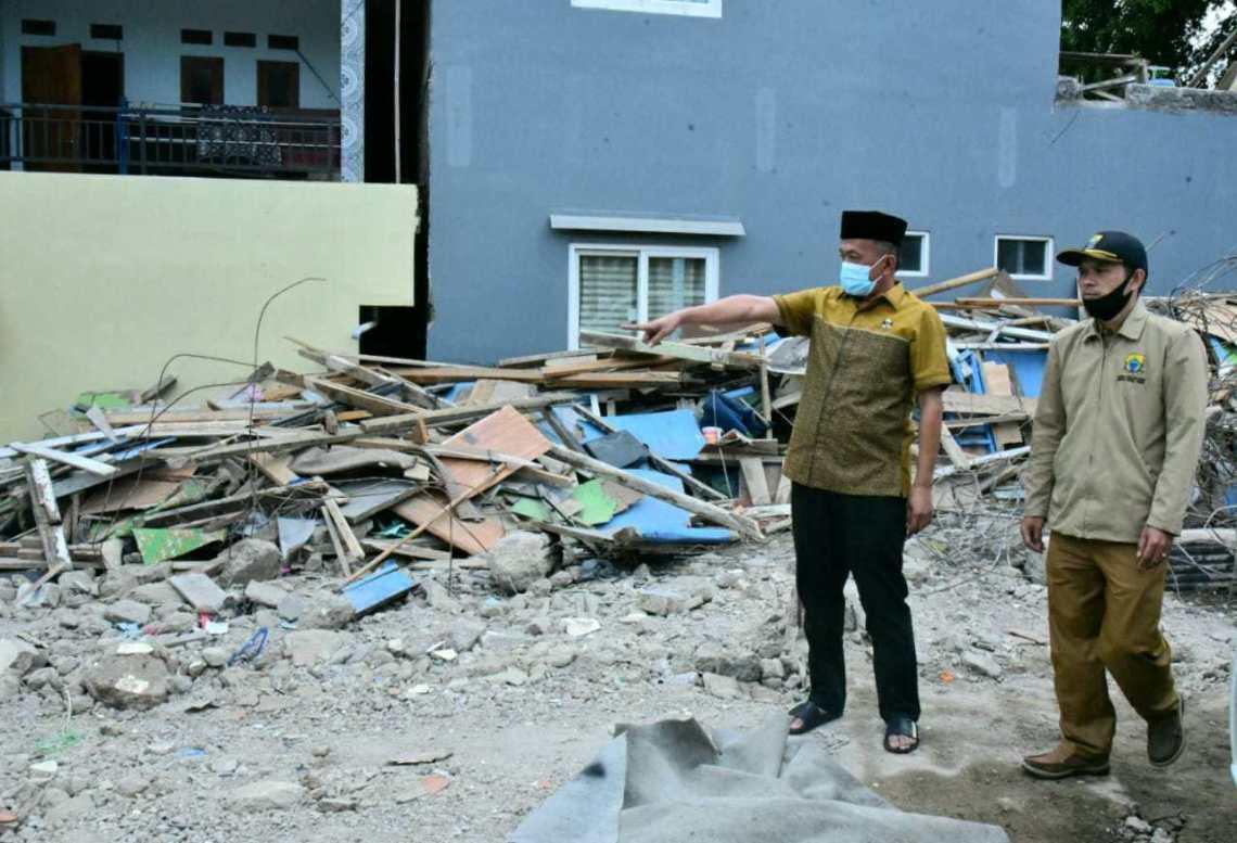 Ponpes Al Madaroh Cianjur Ambruk, Ade Barkah Ajak Semua Pihak Rereongan Membantu