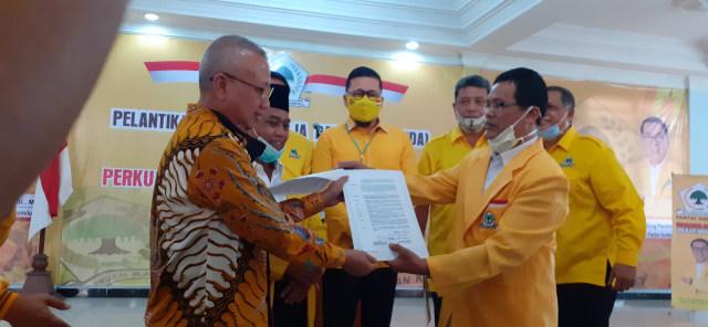 Ahmad Doli Kurnia Serahkan Rekomendasi Untuk Suharsono-Totok Suharto di Pilbup Bantul 2020