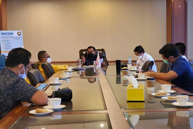 Nurdin Halid Kerahkan Bappilu-BSN Kawal dan Menangkan Usungan Golkar di Pilkada 2020