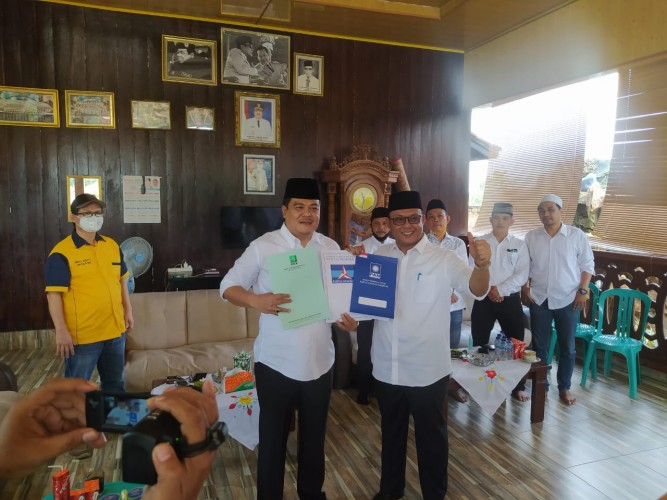Selain Golkar, Musa-Dito Resmi Diusung PKB, Demokrat dan PAN di Pilkada Lampung Tengah