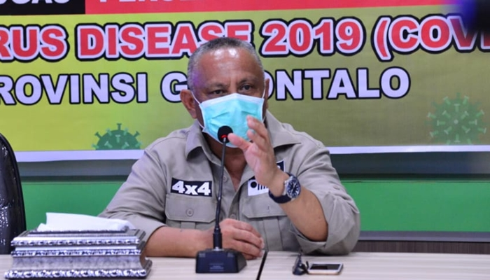 Kasus COVID-19 Cukup Tinggi, Gubernur Rusli Habibie Instruksikan Kota Gorontalo PSBB