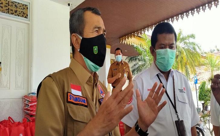 Gubernur Syamsuar Bakal Berkeliling Riau, Bagikan Masker dan Sosialisasi Protokol Kesehatan COVID-19