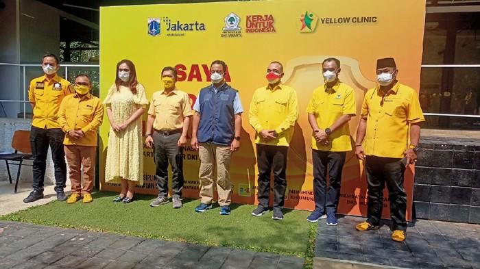 Golkar DKI Jakarta Gelar Vaksinasi COVID-19, Targetkan 1 Juta Warga Divaksin