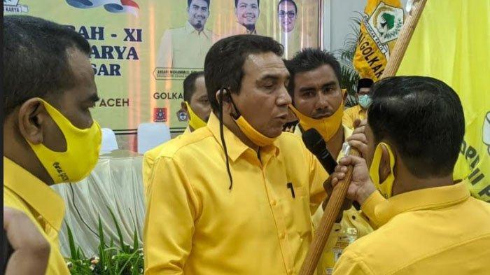 Rapimda Golkar se-Aceh Putuskan Dukung TM Nurlif Sebagai Calon Gubernur Aceh