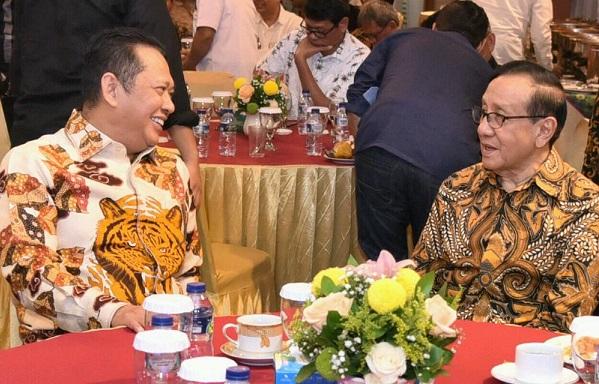 Ini Alasan Akbar Tandjung Dukung Bambang Soesatyo Jadi Ketua Umum Partai Golkar