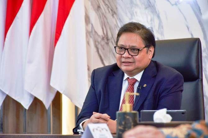 Airlangga Yakin UU Cipta Kerja Bakal Katrol Pendapatan Orang Indonesia Rp.27 Juta Per Bulan di 2045