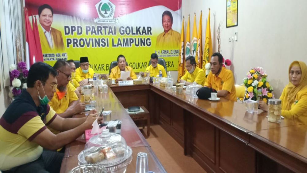 Lampung Peringkat ke-2 Tangani COVID-19, Airlangga Hartarto Puji Gubernur Arinal Djunaidi