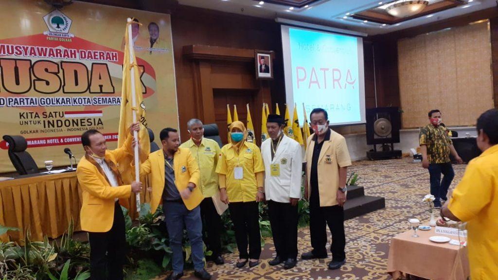 Terpilih Aklamasi Pimpin Golkar Kota Semarang, Erry Sadewo Siap Menangkan Hendi-Ita