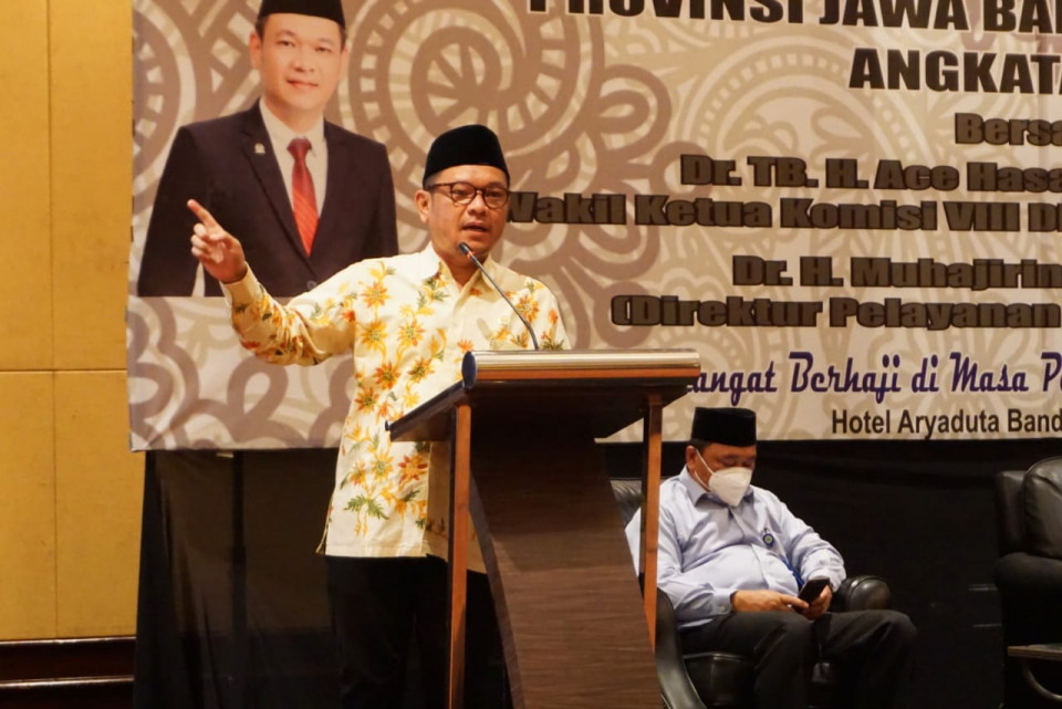 Ace Hasan Ungkap Klaster Jaminan Produk Halal UU Cipta Kerja Bikin Sertifikasi Halal Makin Transparan