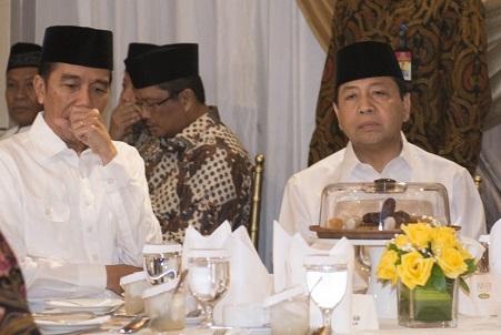 Duh! Dukungan Golkar Ternyata Gerus Elektabilitas Jokowi