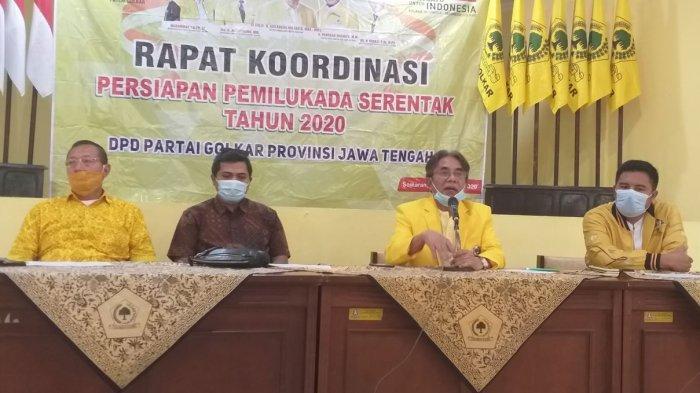 Panggah Susanto Minta Kader Golkar Jateng Kampanye Daring, Taat Prokes Bila Harus Blusukan