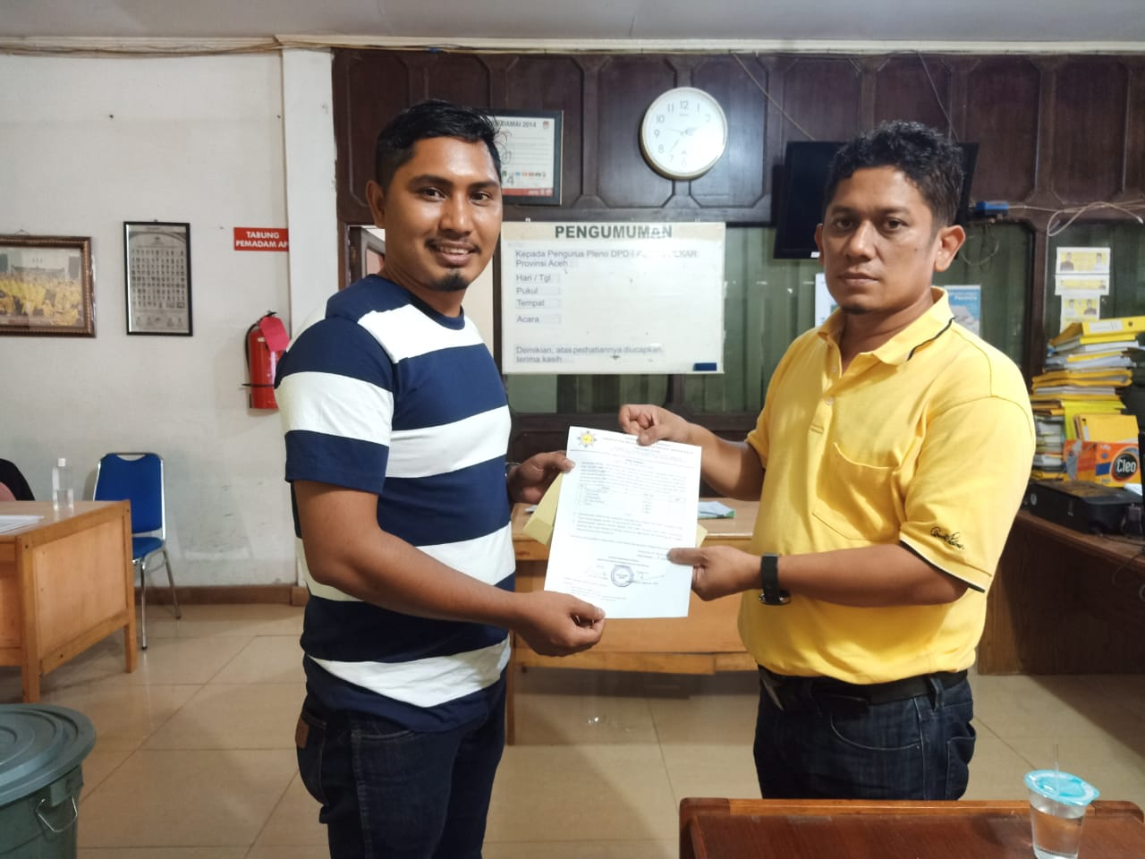 Pimpin AMPI Aceh Timur, Muhammad Taufiq TL Segera Konsolidasi Organisasi