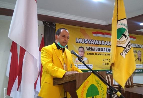 Ferianta Purba Terpilih Aklamasi Pimpin Golkar Karo