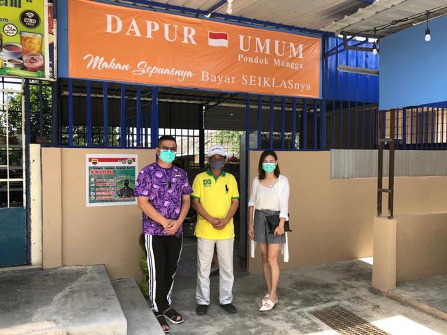 Anggota DPRD Batam, Hendra Asman Dukung Dapur Umum Makan Sepuasnya Bayar Seikhlasnya di Sagulung