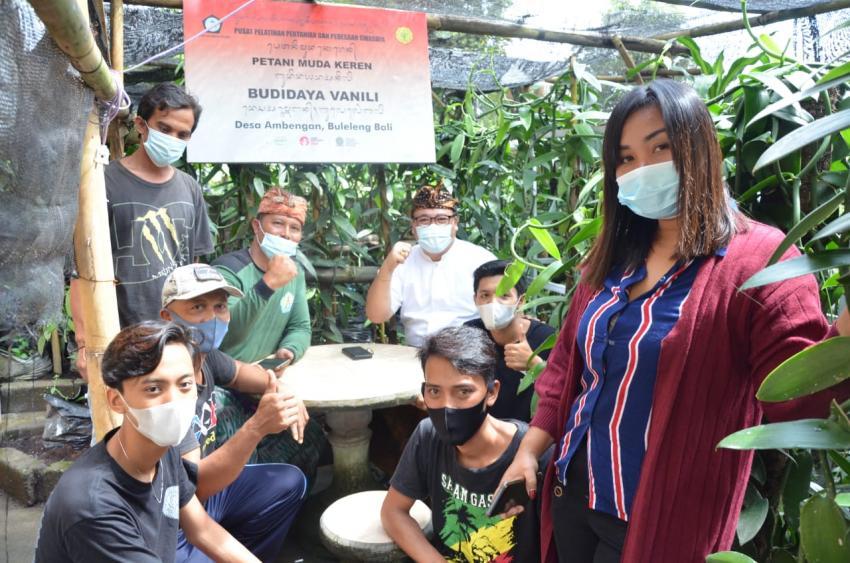 Di Hadapan Petani Muda Keren, Sugawa Korry Tegaskan Golkar Bali Siap Kembalikan Kejayaan Vanili