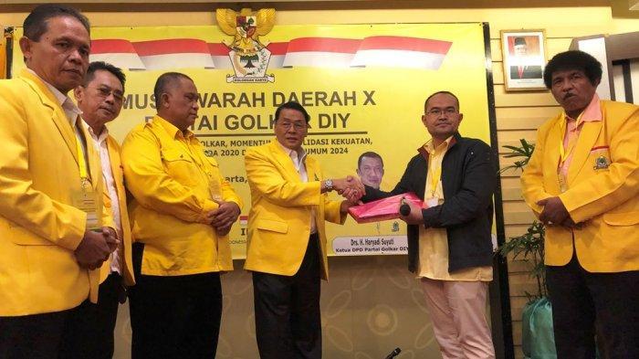 Terinspirasi Mahathir Muhammad, Gandung Pardiman Kembali Rebut Kursi Ketua Golkar Jogjakarta