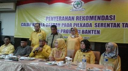 Ini Dia 4 Calon Yang Diusung Golkar di Pilkada Banten 2018