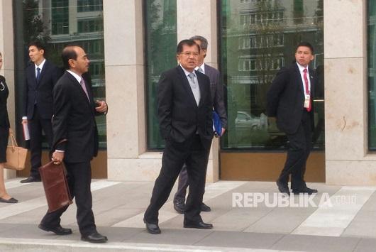 Jusuf Kalla Belajar Pemindahan Ibukota ke Presiden Kazakhstan