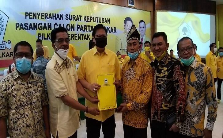 Golkar Usung Said Arif Fadilah-Sujarwo di Pilkada Siak 2020