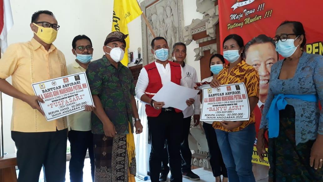 Gus Adhi Gelontorkan Alsintan Untuk Kelompok Tani dan Subak Senilai Rp.4,2 Miliar