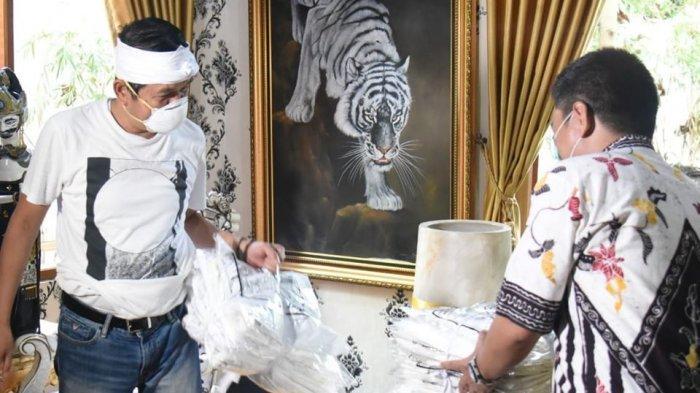 Serahkan APD Ke Sejumlah RS di Jabar, Dedi Mulyadi Ajak Warga Bantu Tenaga Medis