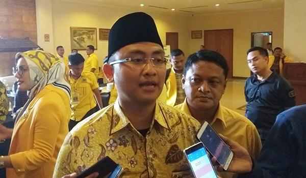 Andika Hazrumy Minta AMPG Banten Garap Suara Anak Muda Untuk Pemenangan Pemilu 2024