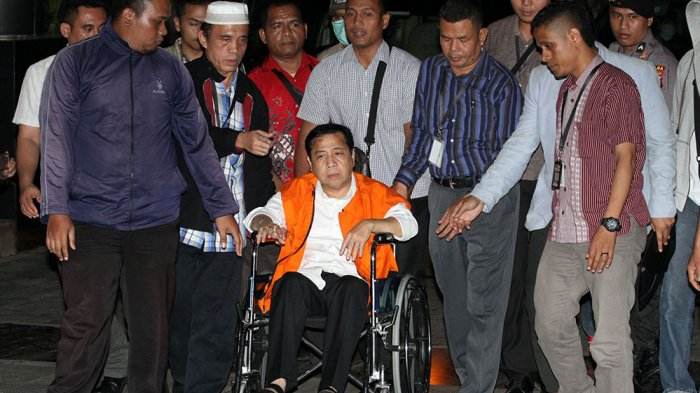 Sakit Jantung, Setya Novanto Dipindahkan Dari Sukamiskin ke Cipinang
