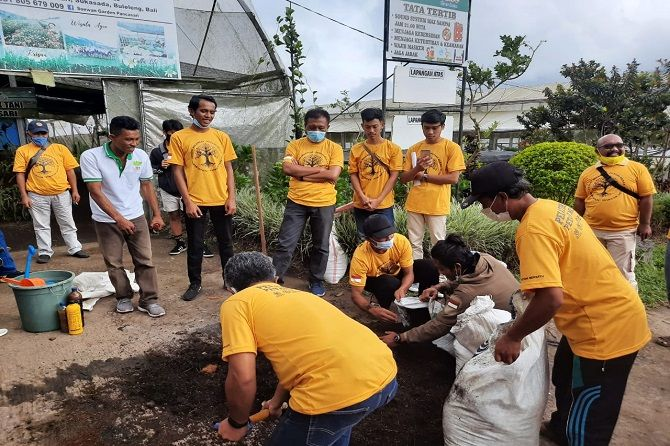 Gandeng Pemuda Jadi Lokomotif Penggerak Ekonomi, Golkar Bali Gelar Pelatihan Petani Milenial